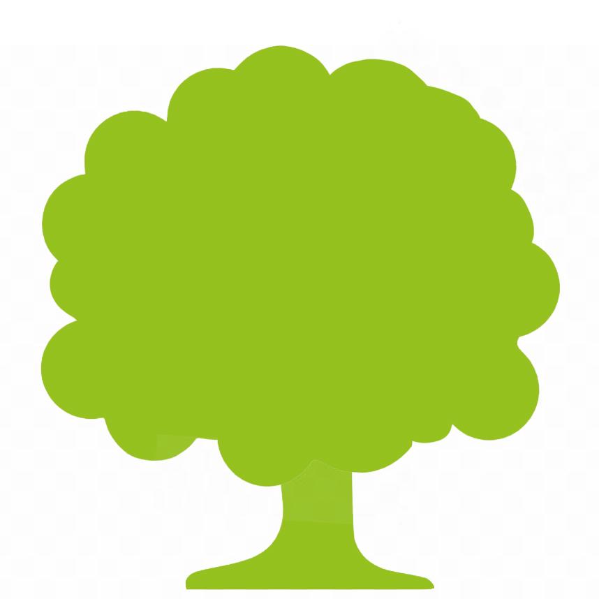 Icon grüner Baum