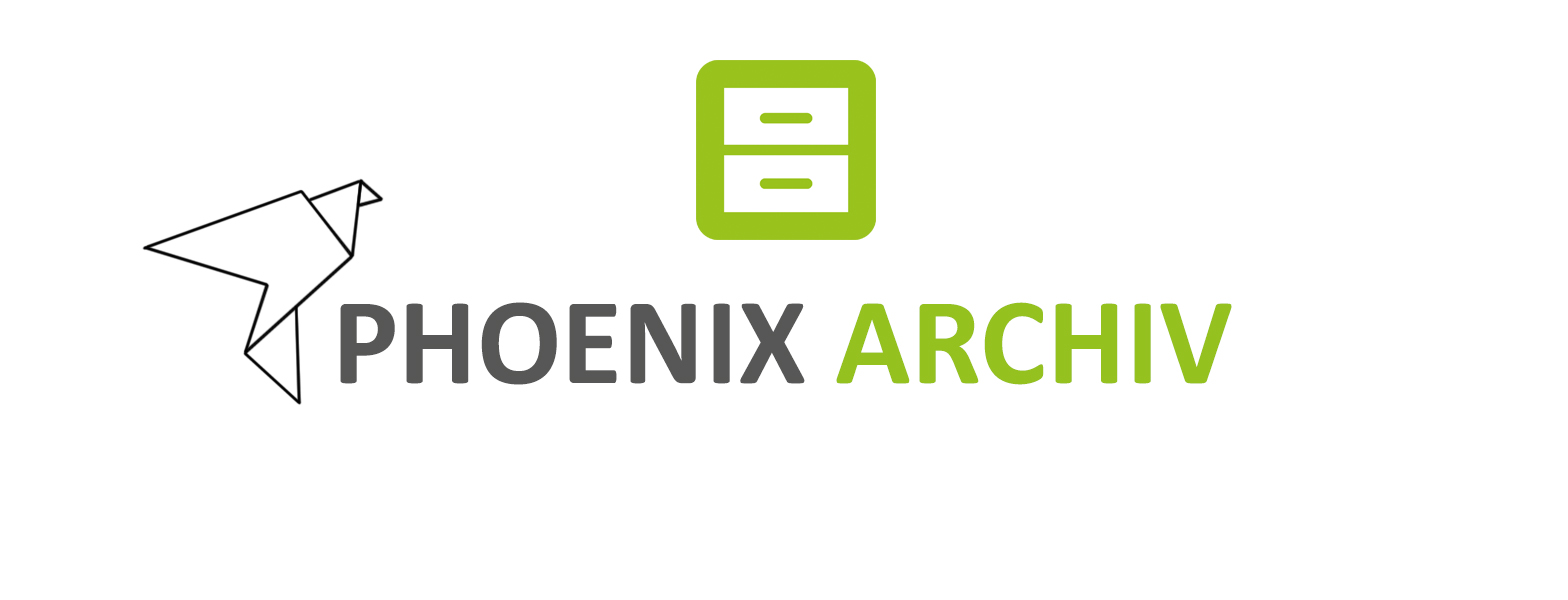 Logo Phoenix Archiv neu grün grau