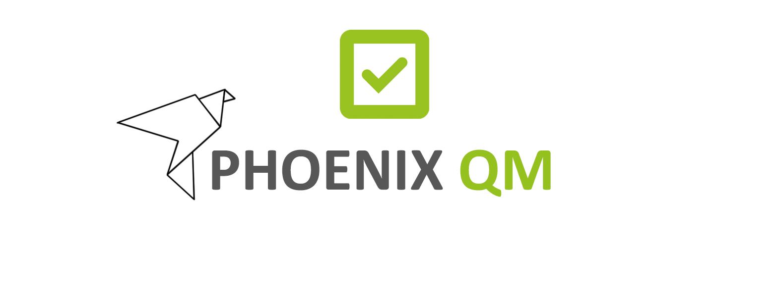 Logo Phoenix QM neu grün grau