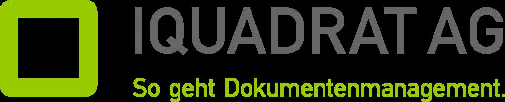 Logo iqaudrat AG quer