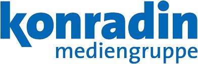 blaues Logo der Konradin Mediengruppe