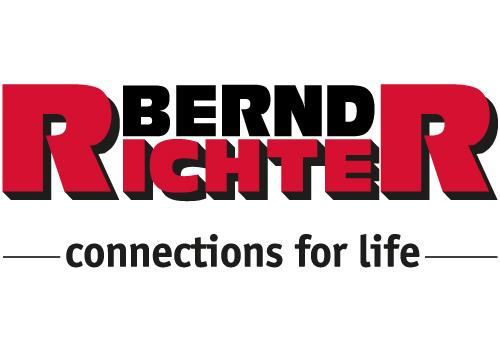 rot schwarzes Logo von Bernd Richter