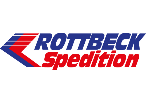 blau rotes Logo von Rottbeck Spedition